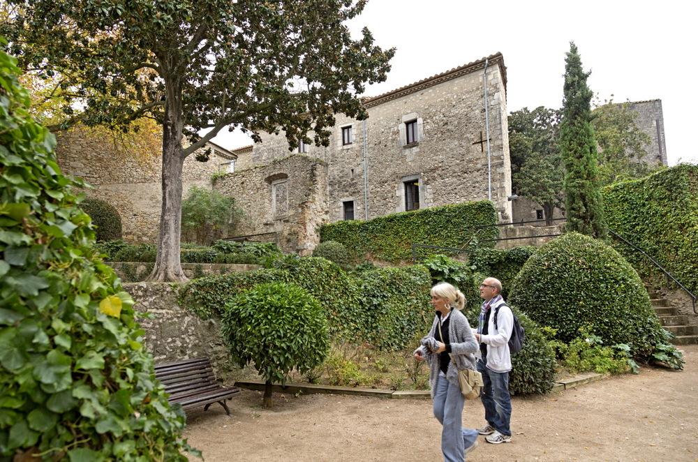 Gérone : balade des jardins de la Francesca