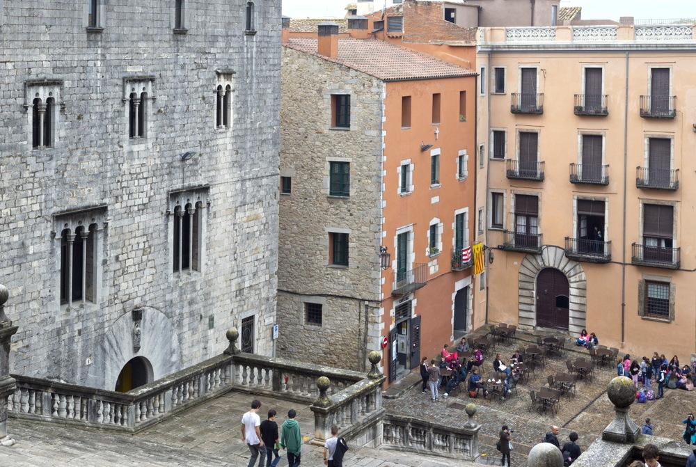 Gérone, au cœur de la vieille ville médiévale