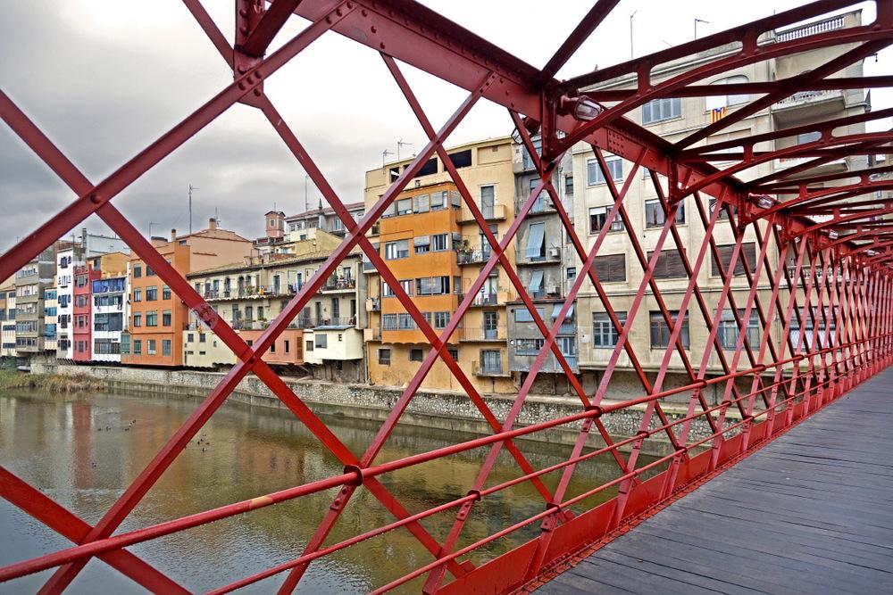 Gérone : pont de Velles les Peixateries