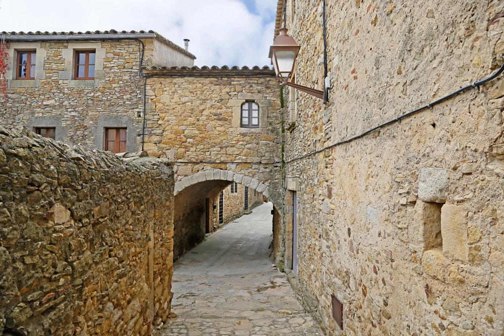 Village médiéval typique de la Costa Brava