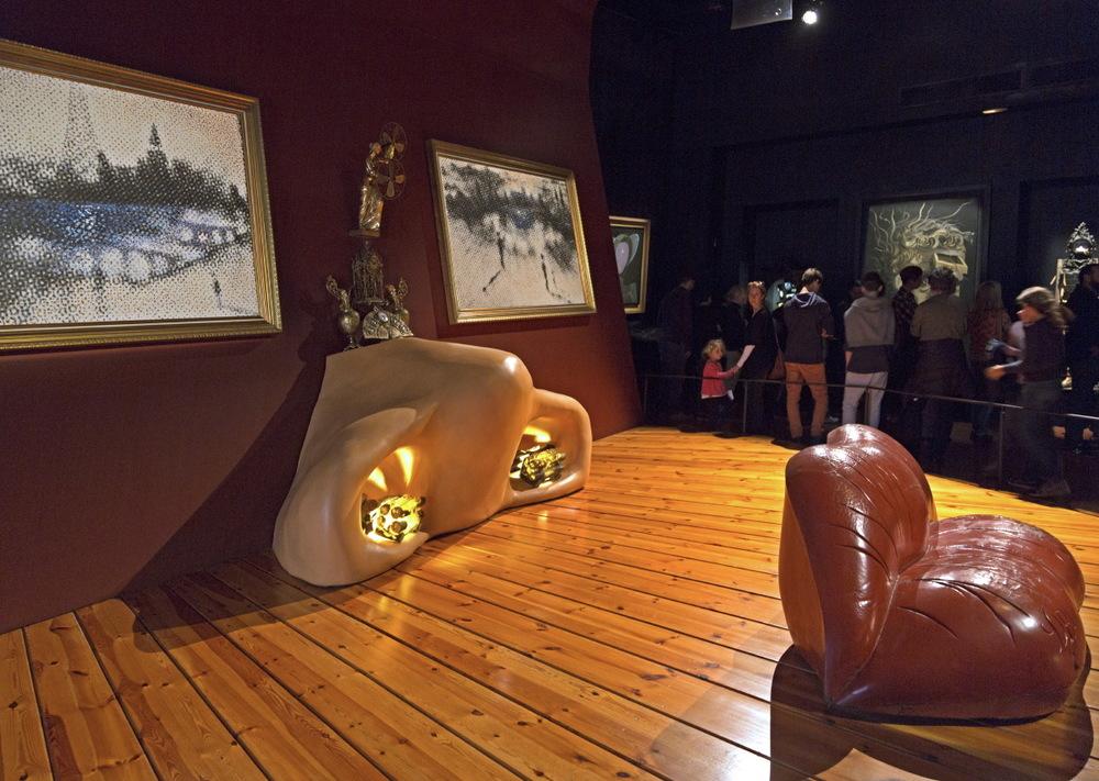 'Salle Ma west' du Musée-Théâtre de Dali © JJ Serol