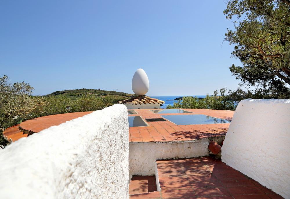 Dali a conçu sa maison de portlligat afin de pouvoir toujours profiter de sa chère 'Costa Brava' © JJ Serol