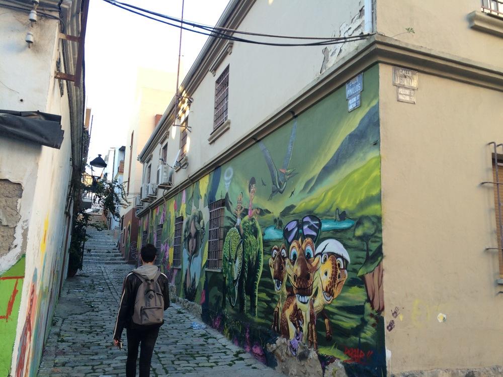 Peintures murales des vieilles ruelles, Malaga