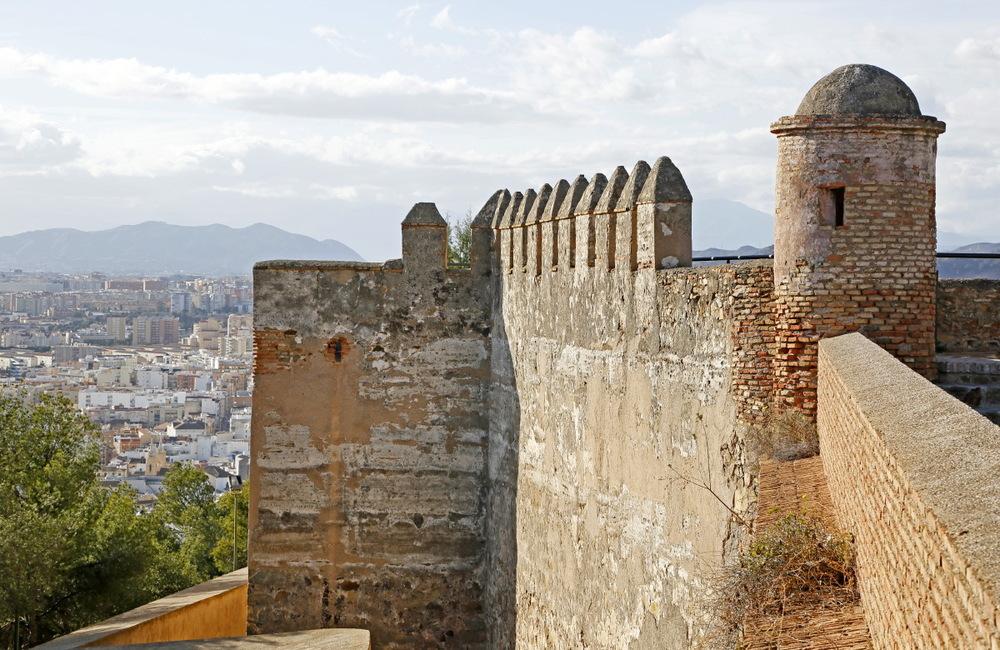 Murailles du fort de Gibarlfaro, Malaga