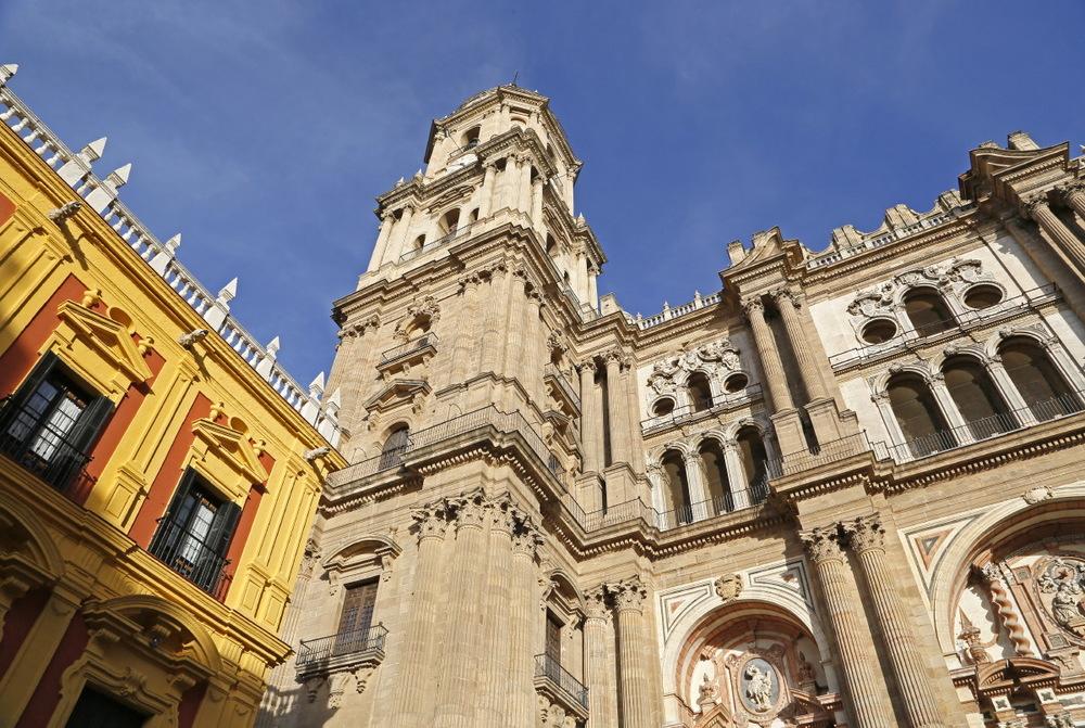 Cathédrale vue de la plaza del Obispo