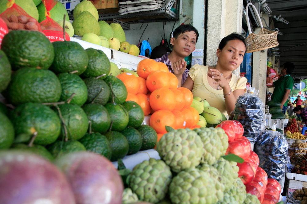 Marchandes de fruits, HCMV