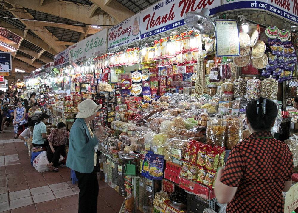 Le marché de nuit de Ben Thanh