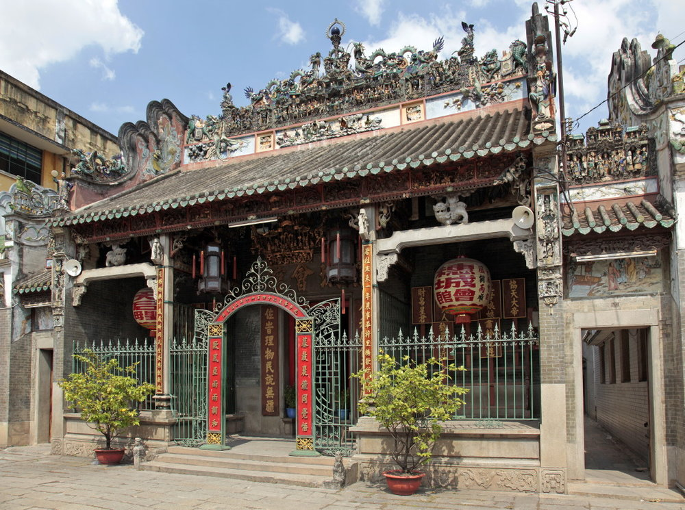 Les pagodes se succèdent: Tue Thanh Hoi Quan