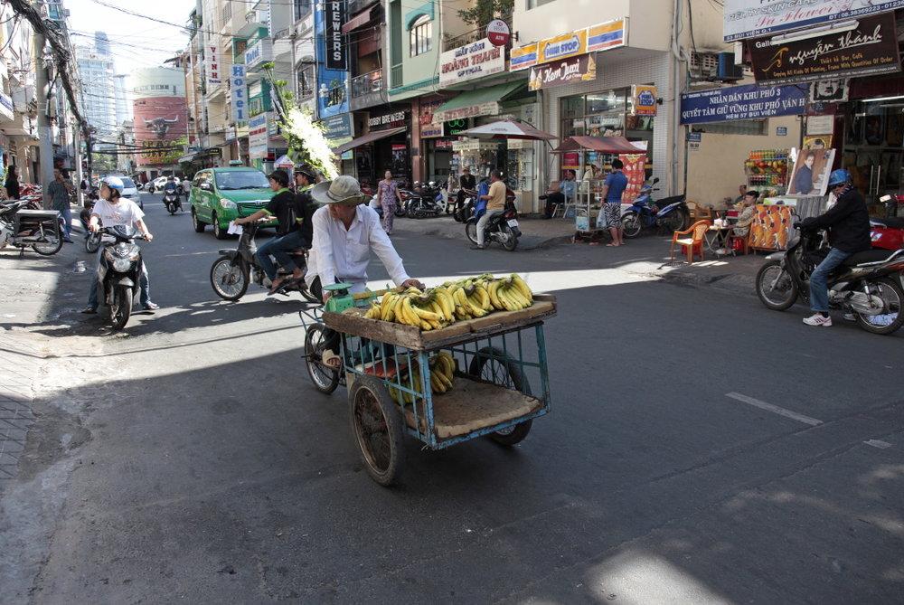 Trafic de bananes, HCMV