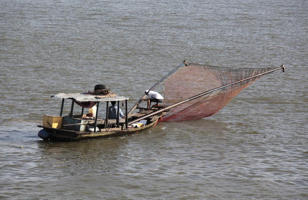 Les pêcheurs de Cantho