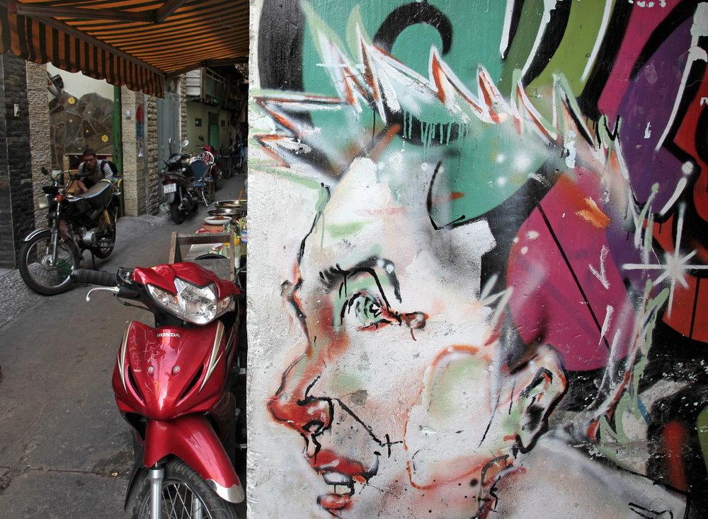 Street Art, HCMV