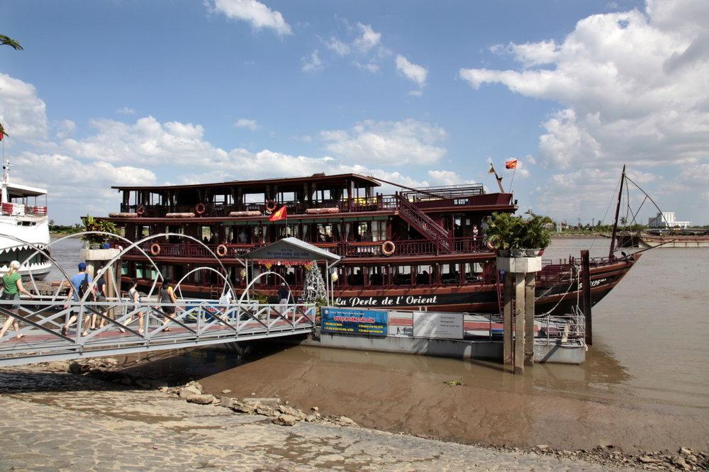 Les rives du Mékong à HCMV