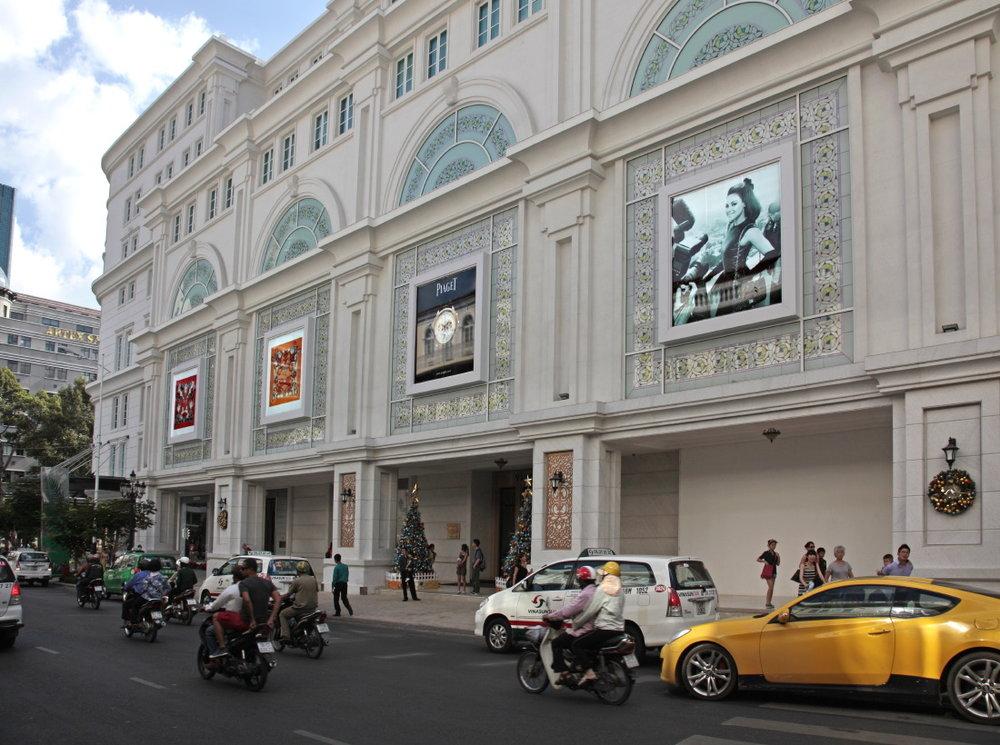 Des shopping malls plus beaux les uns que les autres