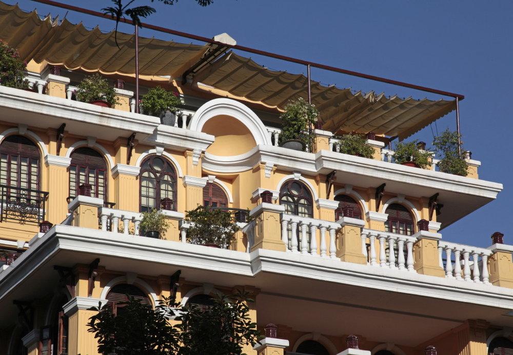 Architecture (neo)coloniale, HCMV