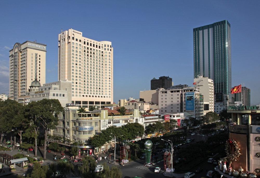 Saigon, partout de nouvelles tours hérissent l'horizon