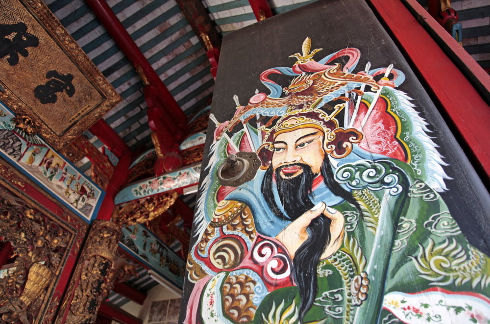 Porte de la pagode Kiến An Cung, SaDec