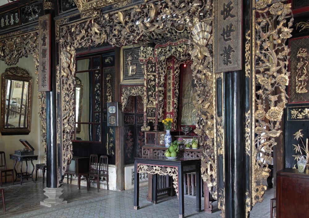 Autel familial de l'Amant chinois Huynh Thuy Lê