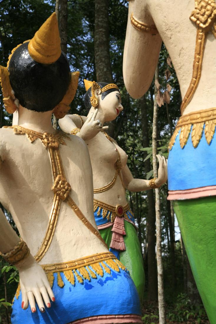 Danse des apsaras, Wat Sam Rongek, un temple khmer près de TraVinh