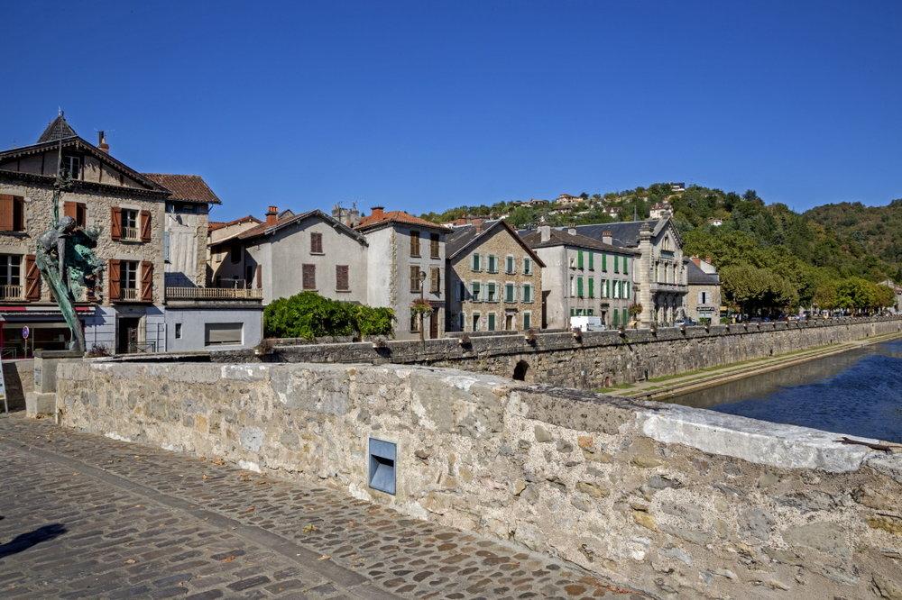 Pont sur l'Aveyron, Villefranche de Rouergue