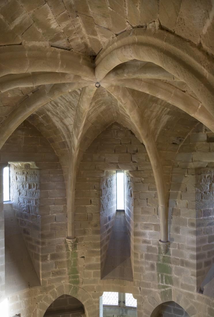 Intérieur du donjon, citadelle de Najac
