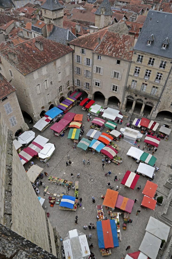 Place (Notre Dame) du marché, Villefranche de Rouergue