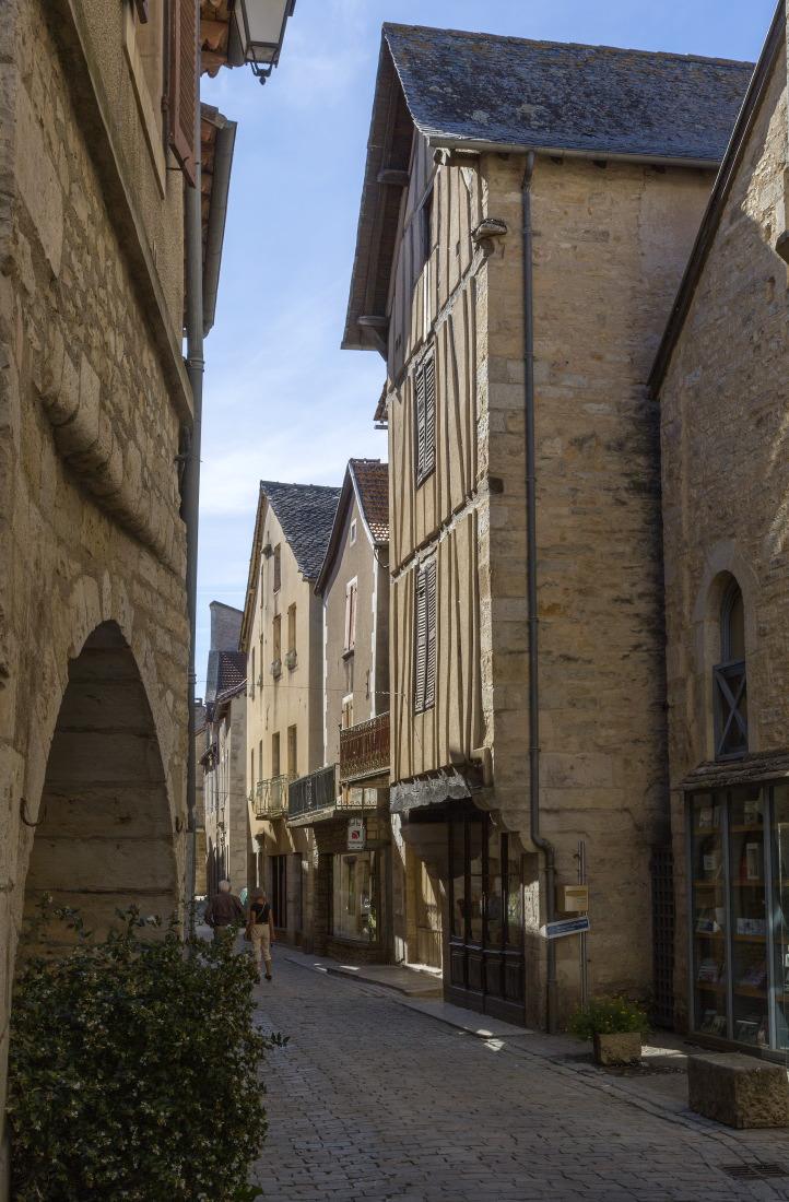 La bastide de Villeneuve d'Aveyron