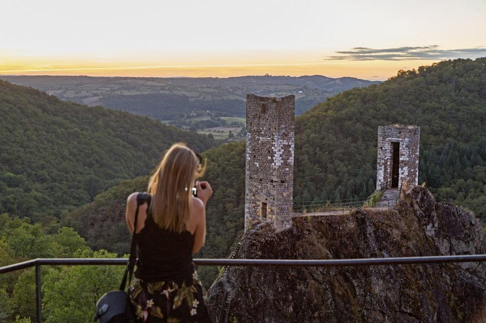 Sublimes tours du Roc del Thaluc à Peyrusse-le-Roc