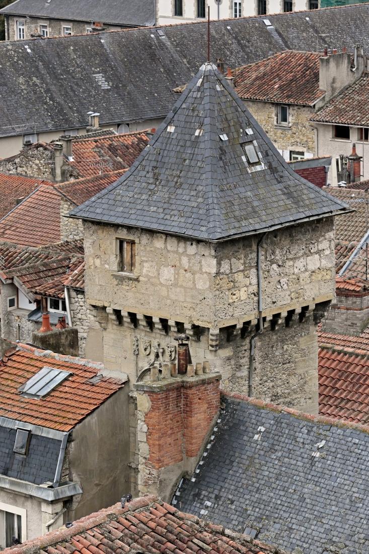 Du haut du clocher de la collégiale, Villefranche de Rouergue