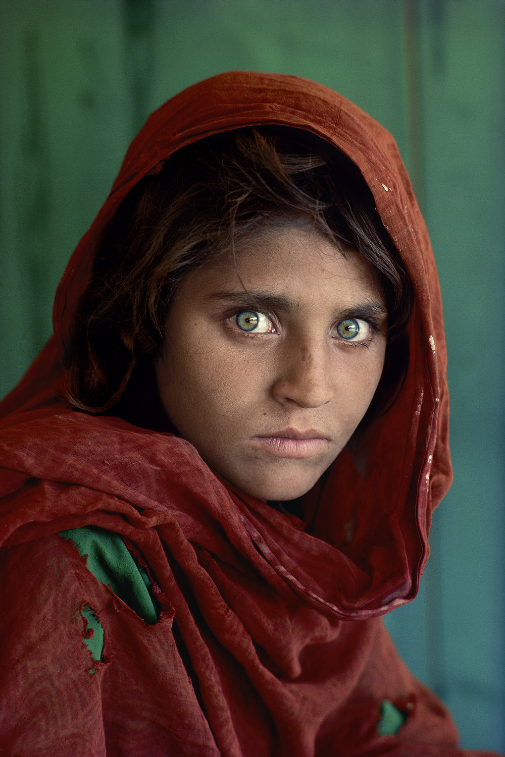 Sharbat Gula, Afghan Girl Peshawar, Pakistan 1984 © Steve McCurry