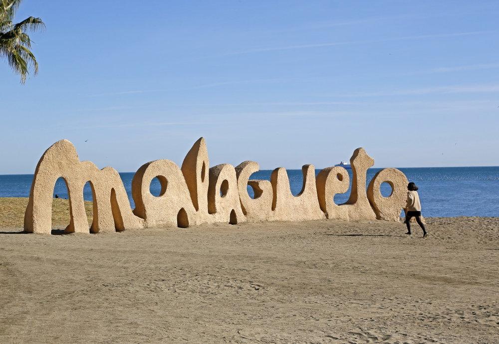 Le symbole de Malagueta, selfie exigé!