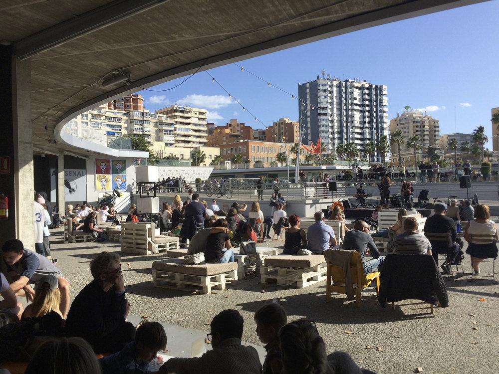 Concert gratuit le WE au coin de Muelle Uno