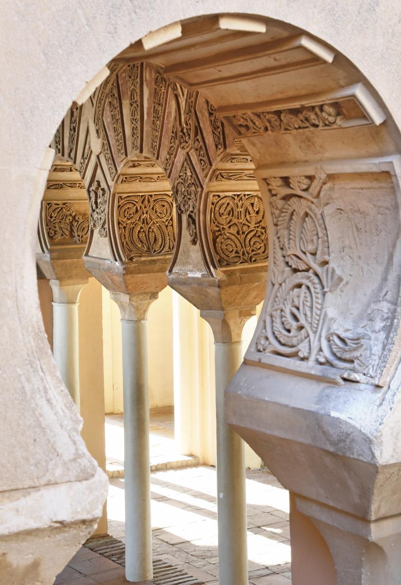 Alcazaba, sublime charme hérité des Hammudites