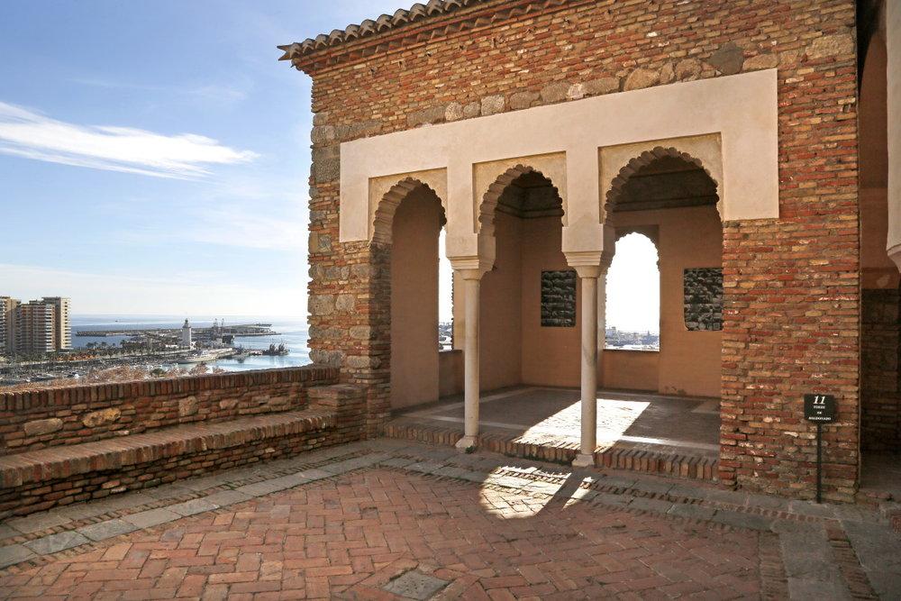 Dans l'intimité de l'Alcazaba