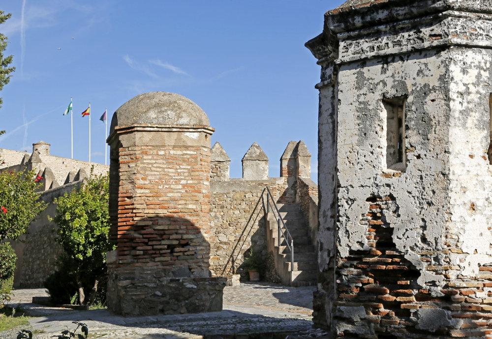 Le fort de Gibralfaro
