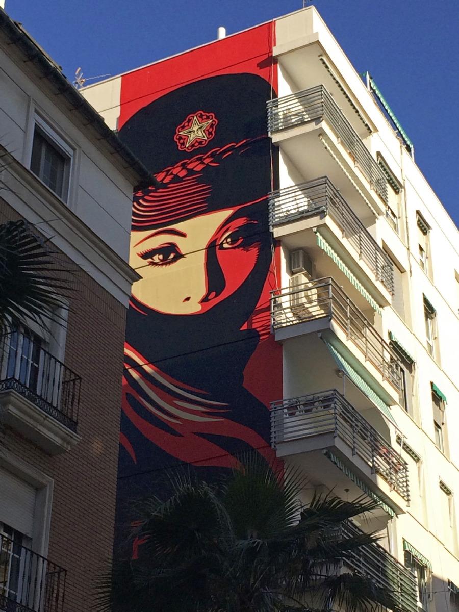 Fresques murales dans le quartier de Soho