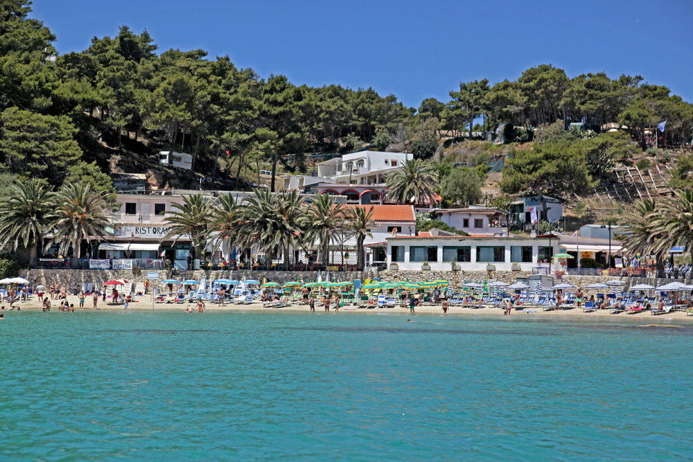 L'unique plage de San Domino, Tremiti
