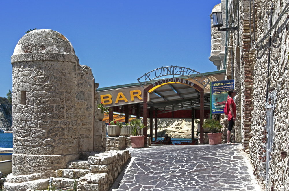L'un des meilleurs restaurants de Tremiti, sur San Nicola