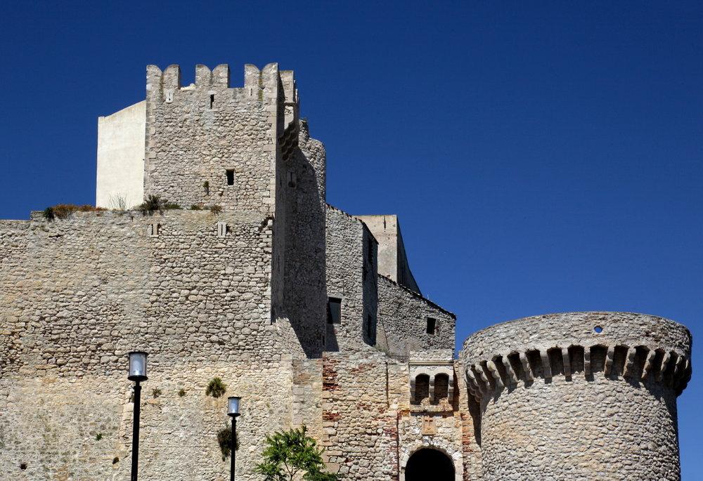Entrée de l'abbaye de Ste marie de la Mer, Tremiti