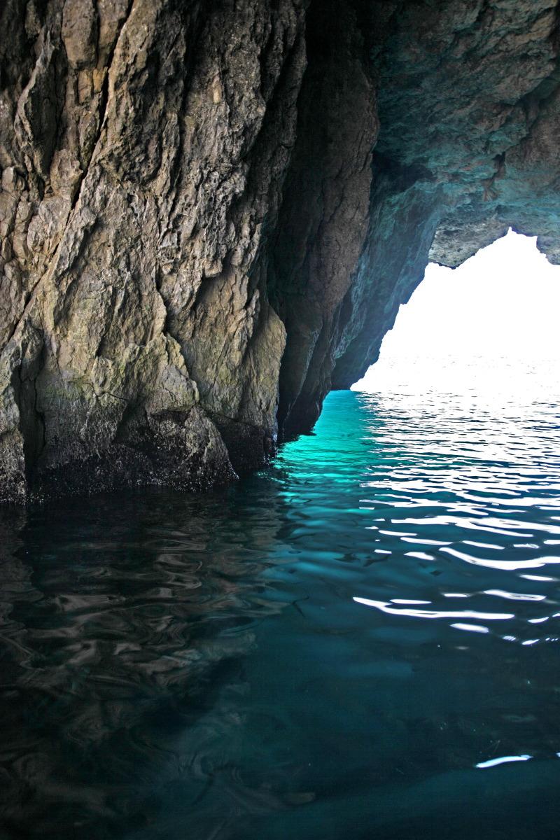 Grottes marines de la côte du Gargano