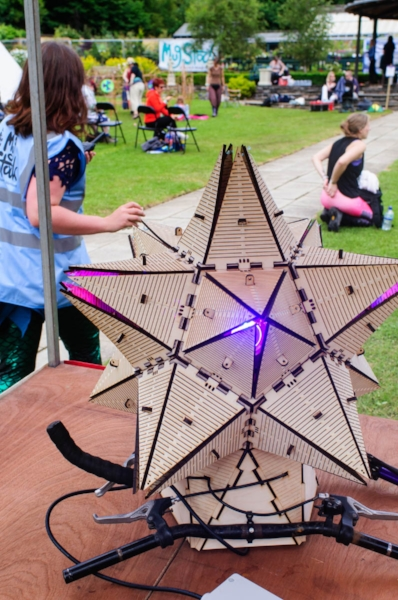 Small-Stellated Dodecahedron at Mugstock