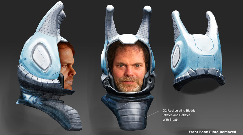 Andorian Concept Drawing