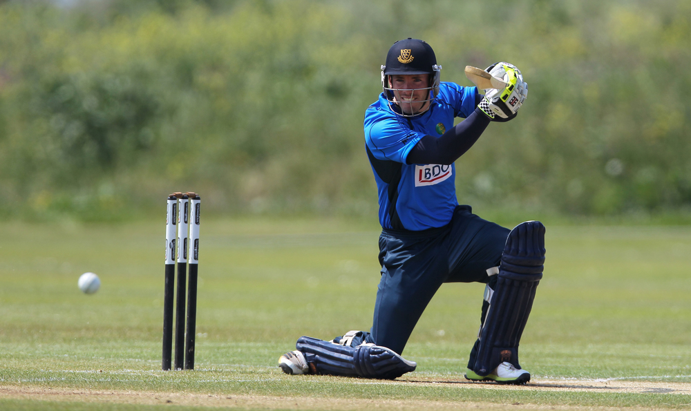Sussex's Joe Gatting in GPL action at Port Soif in 2013