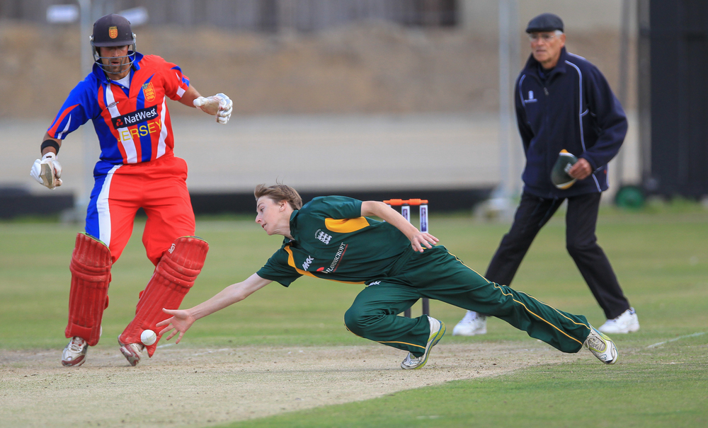 Guernsey v Jersey Inter-Insular 2013... Venue: KGV... Date: 7th Sept 2013...Result: Jersey by 14 runs.