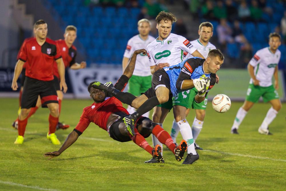 Guernsey FC v Glebe FC played at Footes Lane 31st July 2015… Glebe win 2-3...