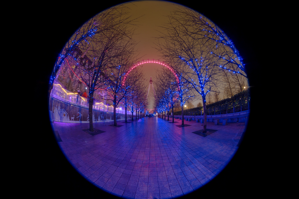 'Blue Christmas'… I've wanted to shoot this Christmas view of the London Eye for a while and it was worth waiting for!