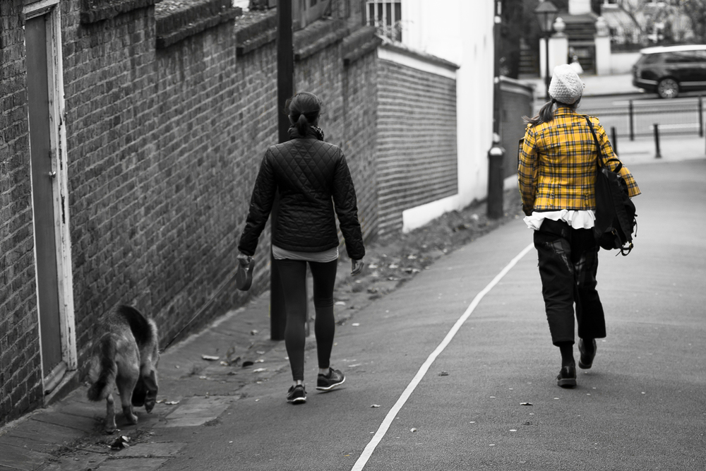 'London Fashion'… Saw this scene whilst walking in London and could see this image immediately. I think it needed all three to make it work.