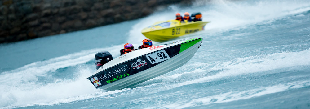Guernsey Powerboat Association Stanley Gibbons Race Series 8th October 2016....Held over the Lowerheads/Havelet Course...