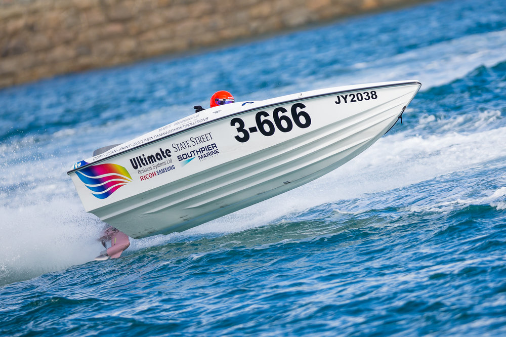 Guernsey Powerboat Association Stanley Gibbons Race Series 9th October 2016....Held over the Lowerheads/Havelet Course...