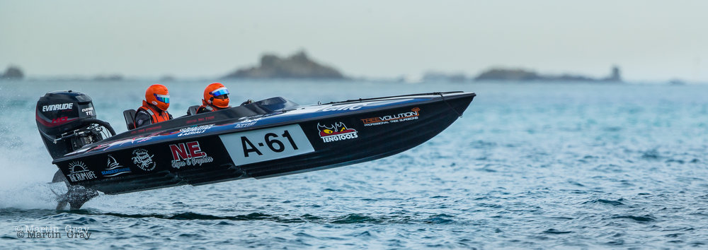 Guernsey Powerboat Association Stanley Gibbons sponsored Series - Race 6.... 16th July 2017.