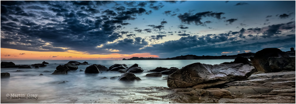 'In the Still of the Morning'... Pembroke Bay before a summer sunrise....